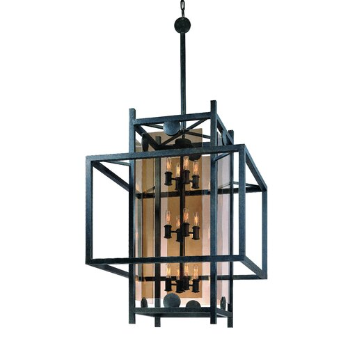 Troy Lighting Crosby 12 Light Extra Large Foyer Pendant