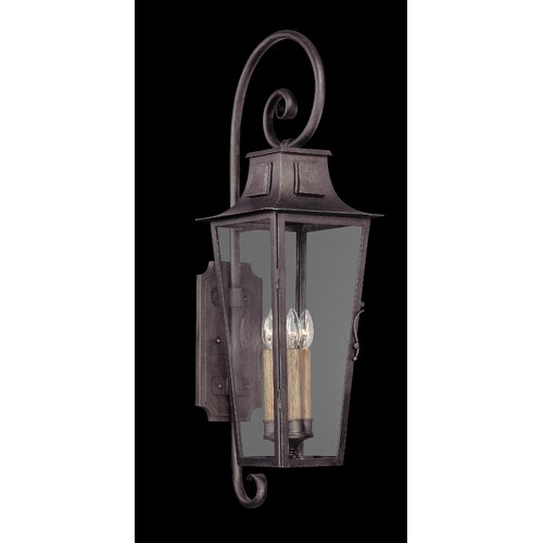 Troy Lighting French Quarter 4 Light Outdoor Wall Light