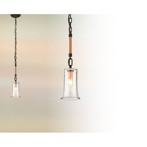 Troy Lighting Pier 39 1 Light Pendant