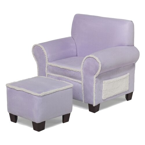 Hannah Baby Club Chair and Ottoman Set
