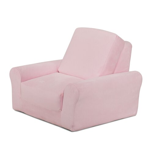 Lounge Chair in Pink