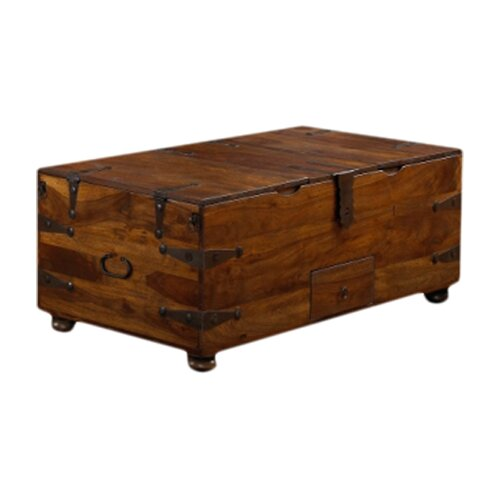wooden coffee table trunks
