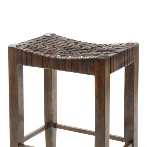 "William Sheppee Saddler 26"" Bar Stool"