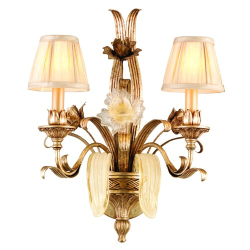 Corbett Lighting Tivoli 2 Light Wall Sconce