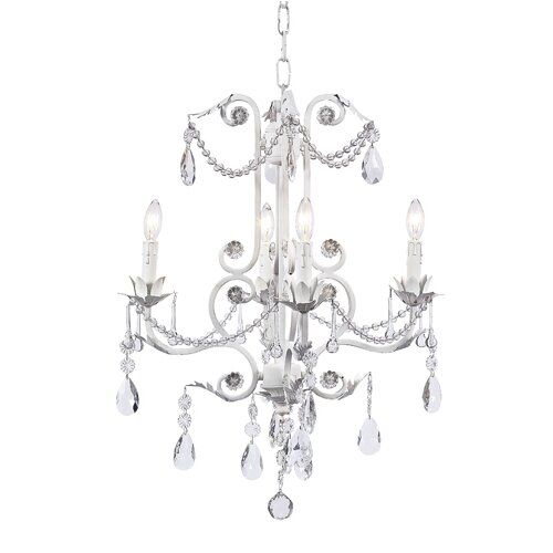 Jubilee Collection Valentino 4 Light Chandelier