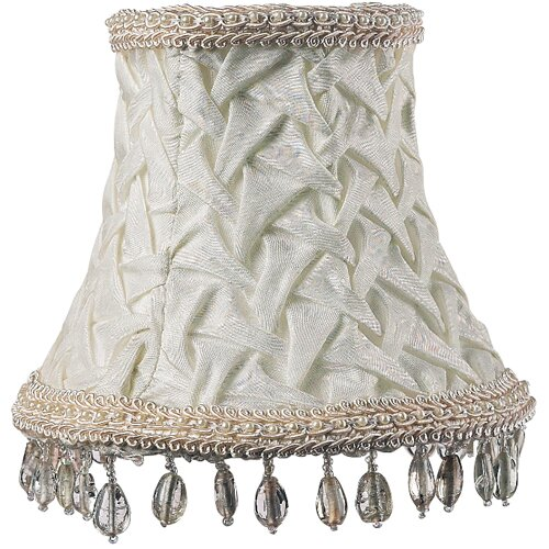 "Jubilee Collection 5"" Fabric Bell Lamp Shade"