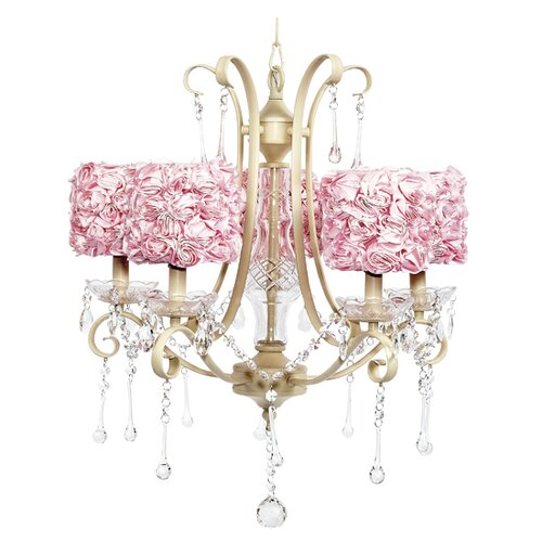 Colleen 5 light Crystal Chandelier