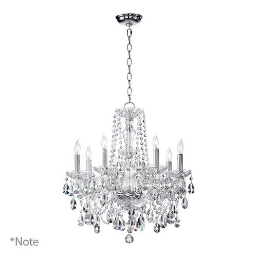 Quorum Bohemian Katerina 8 Light Chandelier