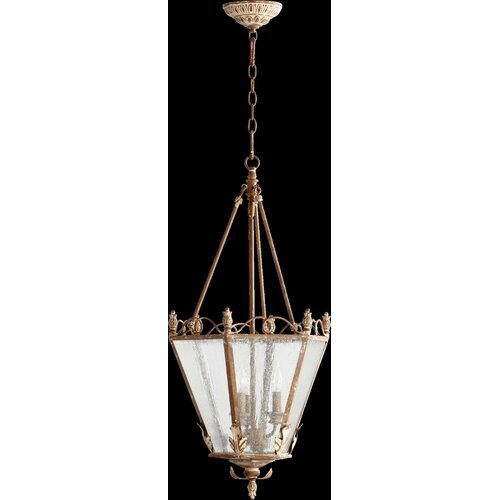 Quorum Salento 3 Light Foyer Pendant
