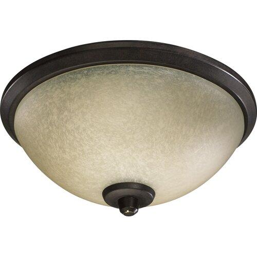 Quorum Alton 3 Light Bowl Ceiling Fan Light Kit