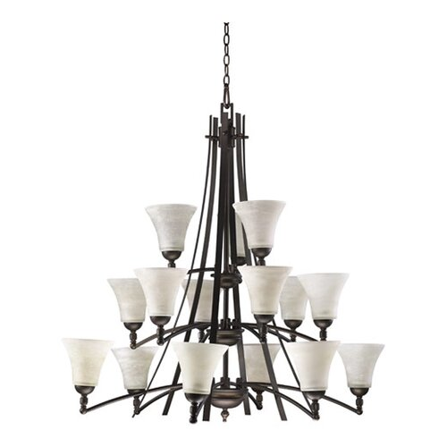 Quorum Aspen 15 Light Chandelier