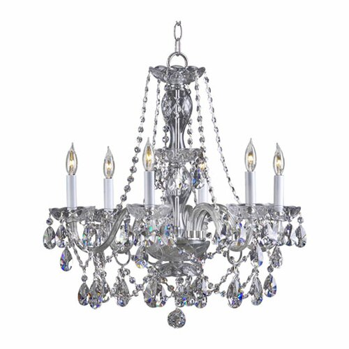 Quorum Bohemian Katerina 6 Light Chandelier