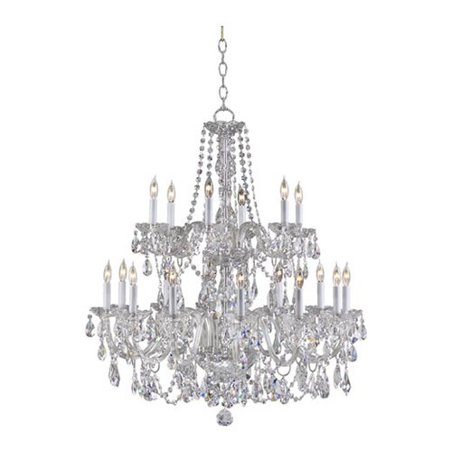 Quorum Bohemian Katerina 18 Light Chandelier