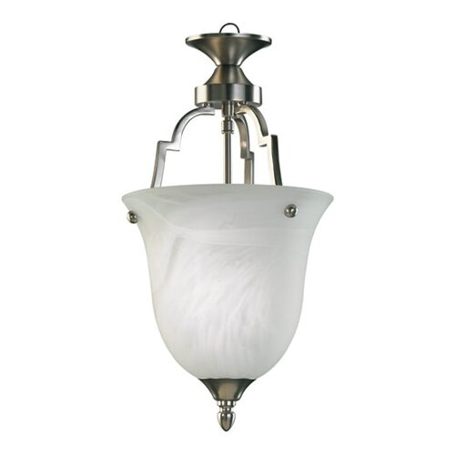 Quorum Coventry 1 Light Convertible Inverted Pendant