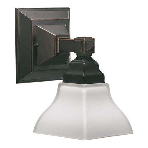 Quorum Craftsman 1 Light Wall Sconce