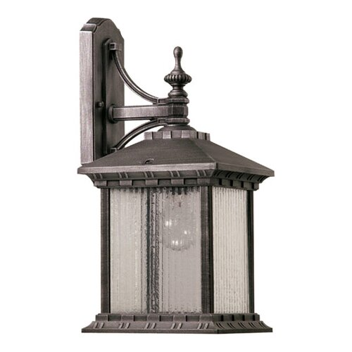 Quorum Huxley 1 Light Downlight Outdoor Wall Lantern