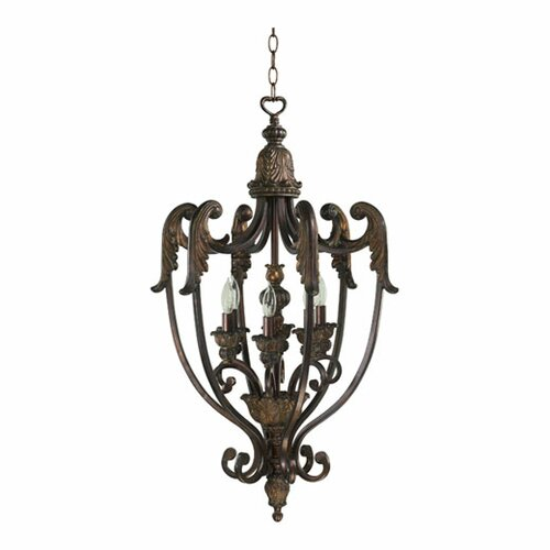 Quorum Madeleine 6 Light Foyer Pendant