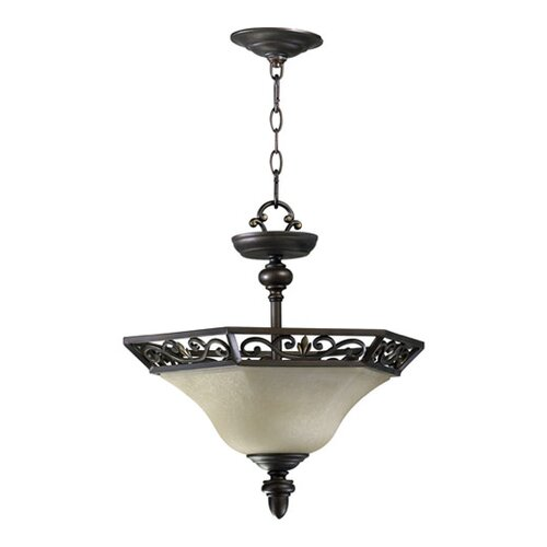 Marcela 2 Light Convertible Inverted Pendant