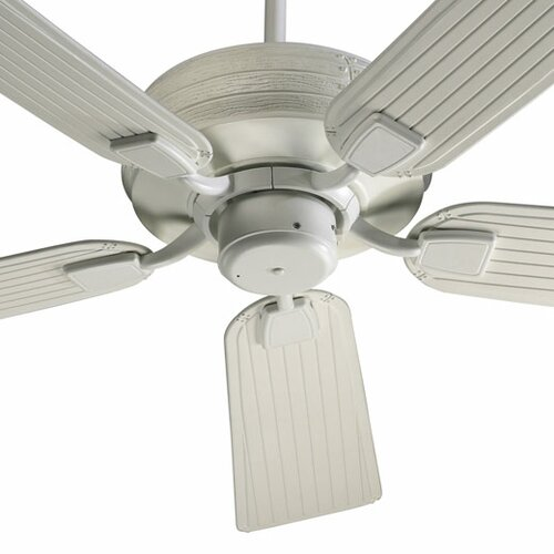 "Quorum 56"" Marsden 5 Blade Patio Ceiling Fan with Remote"