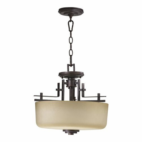 Prairie 2 Light Convertible Inverted Pendant