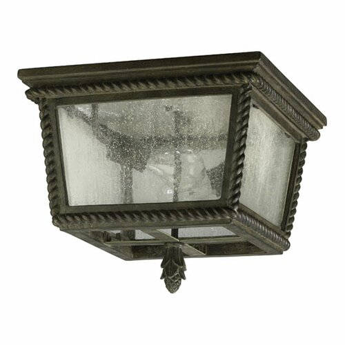 Quorum Rochelle 2 Light Flush Mount