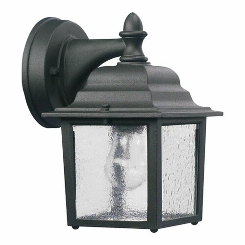 Quorum Lantern 1 Light Box Outdoor Wall Lantern