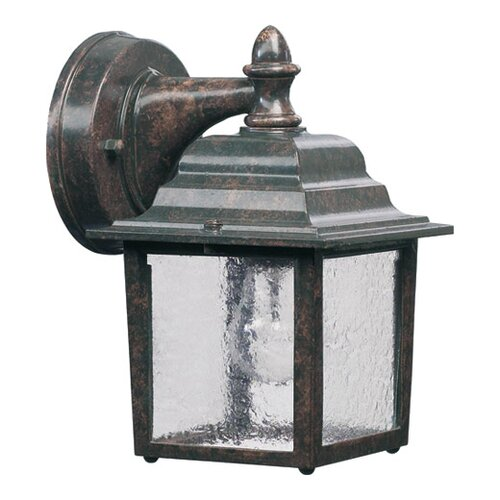 Quorum 1 Light Box Outdoor Wall Lantern