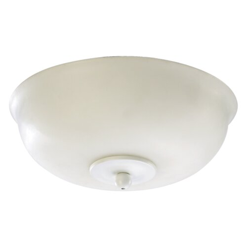 Quorum 2 Light Bowl Ceiling Fan Light Kit