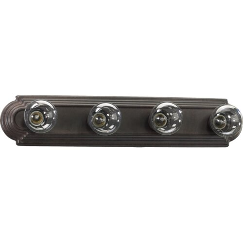 Quorum Stepped 4 Light Bath Bar Light