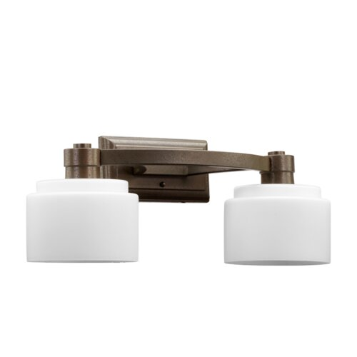 Quorum Stillman 2 Light Bath Vanity Light