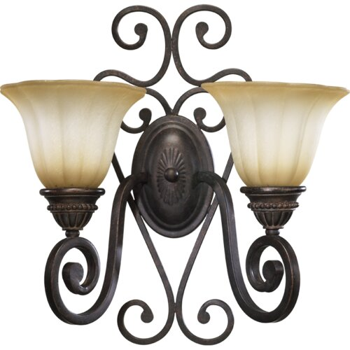 Quorum Summerset 2 Light Vanity Light