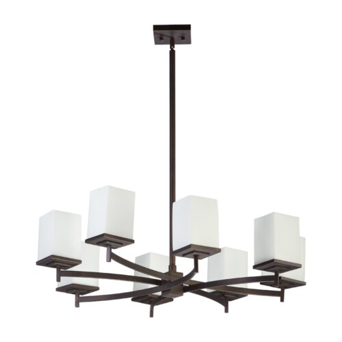 Quorum Delta 8 Light Chandelier