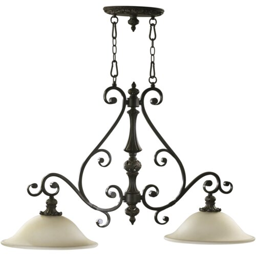 Fulton 2 Light Pendant