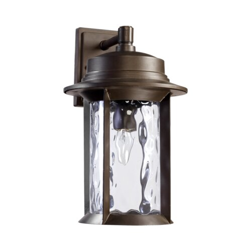 Quorum Charter 1 Light Outdoor Wall Lantern