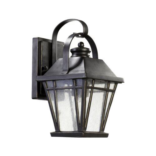 Quorum Baxter 1 Light Outdoor Wall Lantern
