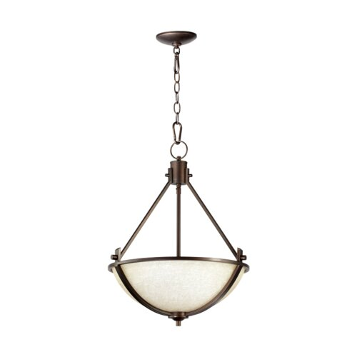 Quorum Winslet 3 Light Inverted Pendant
