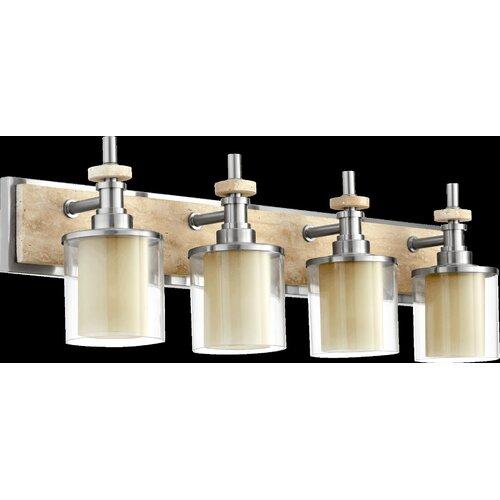 Quorum Vanity Lights : Quorum Concord 4 Light Bath Vanity Light & Reviews Wayfair