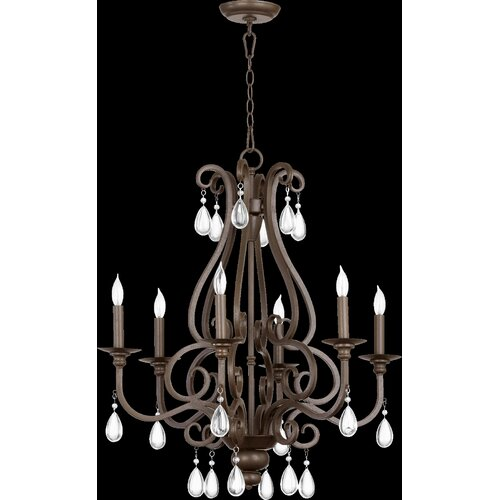 Anders 6 Light Chandelier