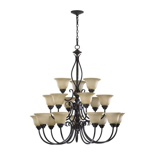 Quorum Spencer 18 Light Chandelier