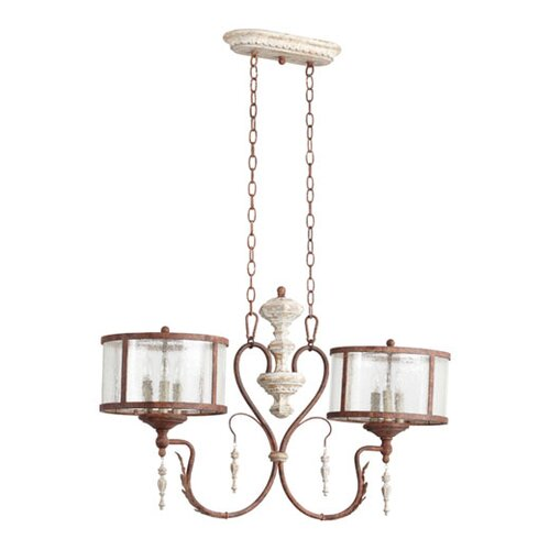 Quorum La Maison 6 Light Kitchen Pendant Light