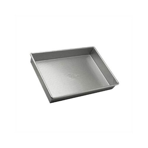 USA Pans Rectangular Cake Pan with Americoat