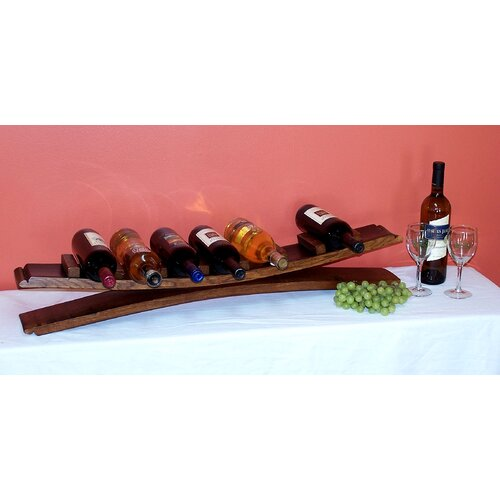 7 Bottle Tabletop Wine Rack