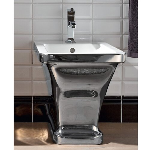 "Scarabeo by Nameeks Butterfly 16.5"" Floor Mount Bidet"
