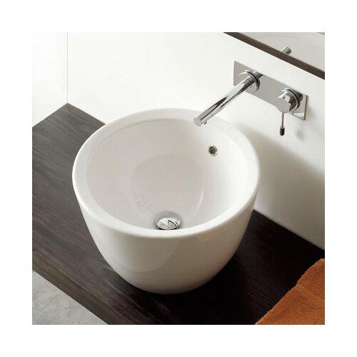 Matty Tondo Above Counter Bathroom Sink