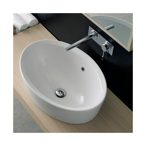 Scarabeo by Nameeks Matty Oval Bathroom Sink