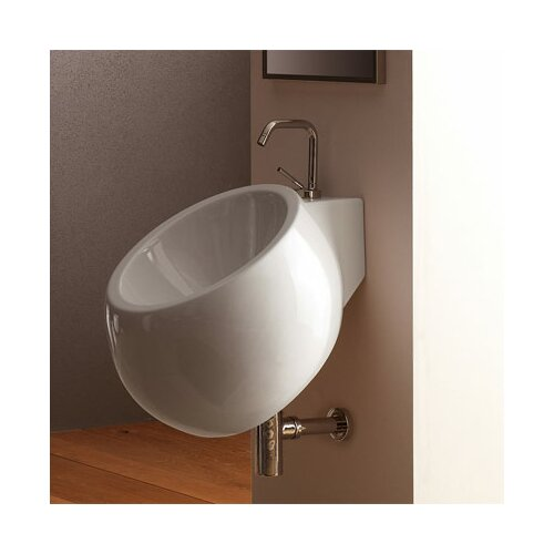 Scarabeo by Nameeks Planet Wall Mounted Bathroom Sink