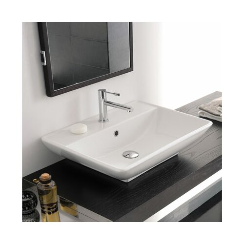 Scarabeo by Nameeks Kylis Wall Mounted or Above Counter Bathroom Sink