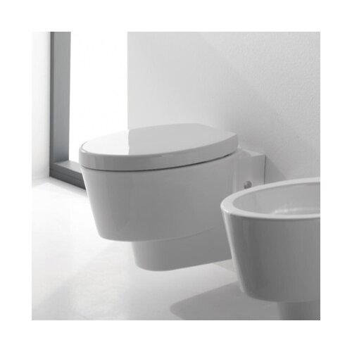 Scarabeo by Nameeks Wish Wall-Hung Elongated 1 Piece Toilet
