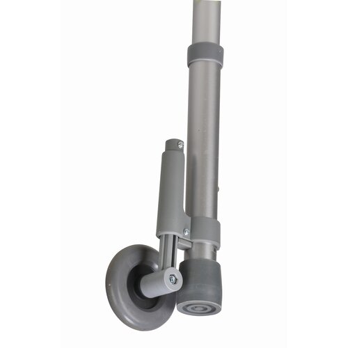 Briggs Healthcare Non-Swivel Rear Walker Wheel