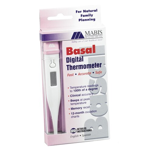Fahrenheit Basal Display Digital Thermometer